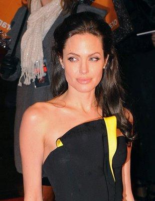 Angelina Jolie Red Dress Bleach Fashion